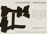Expo 71 - Galeria Galanis Collectable Print by Eduardo Chillida