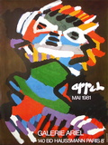 Expo 81 - Galerie Ariel Collectable Print by Karel Appel