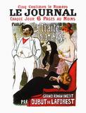 La traite des blanches Serigraph by Théophile Alexandre Steinlen