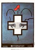 Imagenes contra el sida Collectable Print by Ofelia Rodriguez