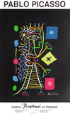 Expo 99 - Galerie Raphaël im Westend Lámina coleccionable por Pablo Picasso
