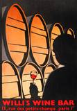 Willi's Wine Bar, 1999 Collectable Print by Alberto Bali