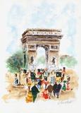 Paris, l'Arc de Triomphe Édition limitée par Urbain Huchet