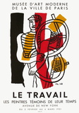 Expo 51 - Les Peintres Témoins de leur Temps Samlarprint av Fernand Leger