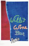 Willi's Wine Bar, 1996 Reproduction pour collectionneurs par Mister King