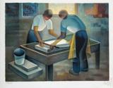 Les lithographes Edition limitée par Louis Toffoli