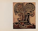 LC - Vase de fleurs Impressão colecionável por Pablo Picasso