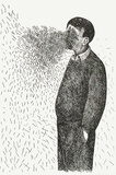 Le vent Collectable Print by Roland Topor