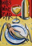 Willi's Wine Bar, 2004 Collectable Print by Jacques Loustal