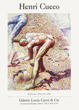 Expo 92 - Galerie Louis Carré Collectable Print by Henri Cueco