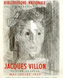 Expo Bibliothèque Nationale Sammlerdruck von Jacques Villon