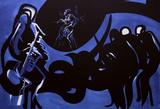 Jazz - Blue note Spesialversjon av Raymond Moretti