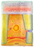 Expo 1990 - Toulouse 25 ans d'affiches Samlartryck av Jean Michel Folon