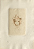 Portrait de jeune fille Limited Edition by Leonor Fini