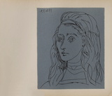LC - Jacqueline Impressão colecionável por Pablo Picasso