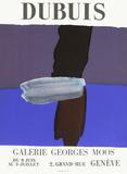 Expo Galerie Georges Moos Samlertryk af Fernand Dubuis