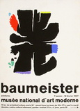 Expo Musée National d'Art Moderne Collectable Print by Willi Baumeister