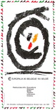 Expo 080 - Europalia II Samlartryck av Pierre Alechinsky