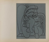 LC - Femme accoudée Collectable Print by Pablo Picasso