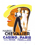 Maurice Chevalier au Casino de Paris II Limited Edition by Charles Kiffer
