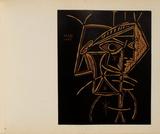 LC - Tête de femme Impressão colecionável por Pablo Picasso