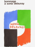 Expo 75 - Centre National Georges Pompidou Collectable Print by Sonia Delaunay-Terk