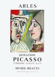 Expo 71 - Musée Réattu Sammlerdrucke von Pablo Picasso