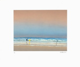 Couple sur la plage Collectable Print by Pierre Doutreleau