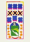 Verve - Poissons chinois Samletrykk av Henri Matisse