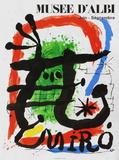 Expo 81 - Musée d'Albi コレクターズプリント : ジョアン・ミロ