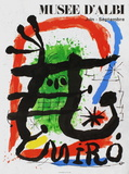 Expo 81 - Musée d'Albi Collectable Print by Joan Miró