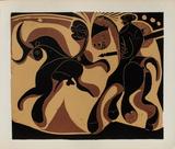 LC - Après la pique Impressão colecionável por Pablo Picasso