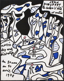 Expo 78 - Musée des Arts Décoratifs Impressão colecionável por Jean Dubuffet