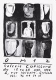 Expo Galerie Cupillard Samletrykk av Gérard Omez