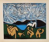 LC - Bacchanale III Sammlerdrucke von Pablo Picasso