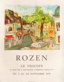 Expo 70 - Le Procope Reproductions pour les collectionneurs par Félix Rozen