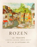 Expo 70 - Le Procope Collectable Print by Félix Rozen