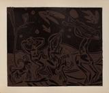 LC - Les danseurs au hibou Impressão colecionável por Pablo Picasso