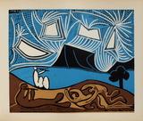 LC - Bacchanale II Sammlerdrucke von Pablo Picasso