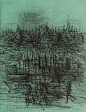 Devant le palais Limitierte Auflage von Jean Carzou