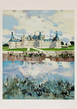 Chaâteau de Chambord Collectable Print by Michel Rodde