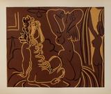 LC - Trois femmes Impressão colecionável por Pablo Picasso