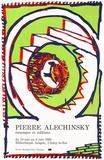 Expo 144 - Bibliothèque Aragon Samlartryck av Pierre Alechinsky