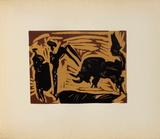 LC - Banderilles Impressão colecionável por Pablo Picasso