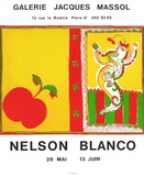 Expo Galerie Jacques Massol Collectable Print by Nelson Blanco