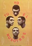Yo Tu El Nosotros Collectable Print by Jaume Plensa