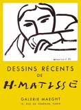 Expo 52 - Galerie Maeght Reproduction pour collectionneurs par Henri Matisse