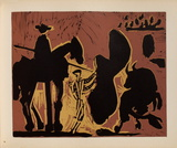 LC - Avant la pique Sammlerdrucke von Pablo Picasso