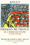 Expo 58 - Musée des Beaux-Arts de Rouen Samletrykk av Fernand Leger