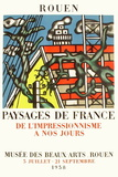 Expo 58 - Musée des Beaux-Arts de Rouen Samlartryck av Fernand Leger